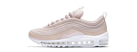 Nike Air Max 97 Premium Pink and Grey Suede 312834 200 Men's Running Shoes Trainers 312834 200
