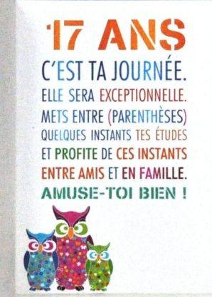 Texte D'anniversaire Pour Ado 17 Ans : texte, d'anniversaire, Épinglé, Elegant, L'anniversaire