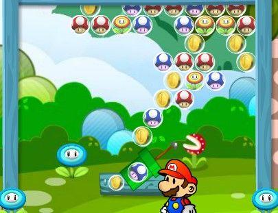 Juego De Bolas Con Mario Bros Juegos De Mario Juegos Mario Bros Juego De Bolos
