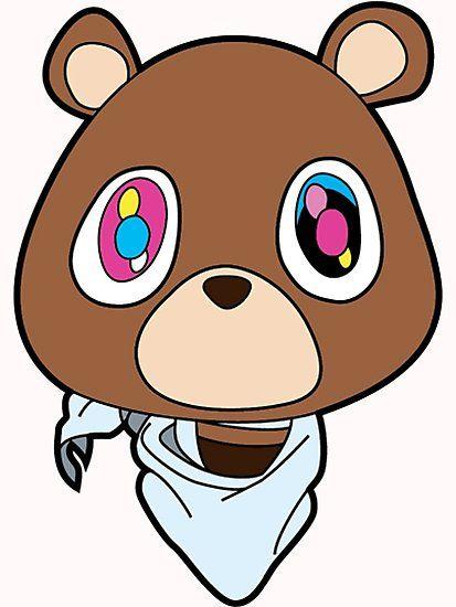 Kanye Teddy Bear By Haydenwilde Kanye West Bear Kanye West Graduation Bear Bear Wallpaper