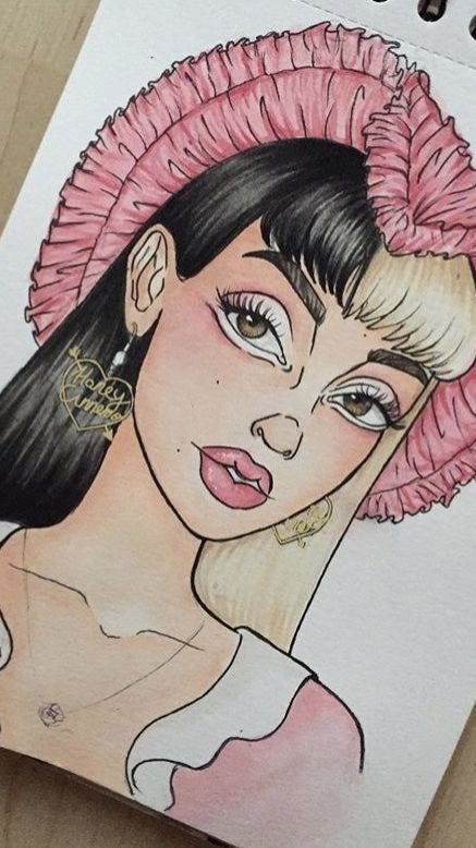 A Melanie Martinez Drawing I Made Melanie Martinez Drawings Drawings Melanie Martinez