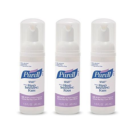 Purell Alcohol Free Foam Hand Sanitizer Advanced Non Alcohol