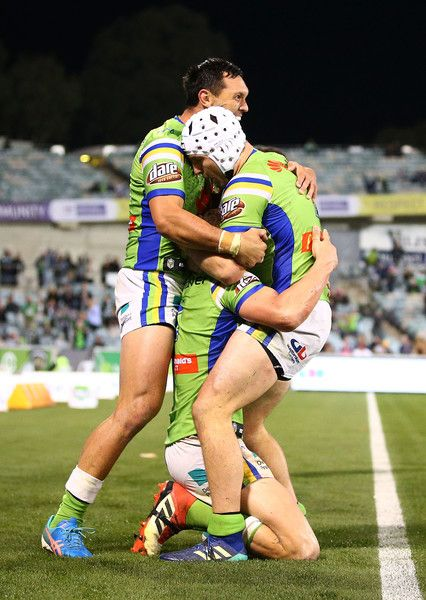 Jack Wighton Photos Photos Nrl Rd 12 Raiders Vs Sea Eagles In 2020 Hot Rugby Players Rugby Men Nrl