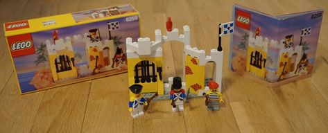 6234  Pirates Vintage Sets 100/% Complete w//Instructions Lego 6245 6235