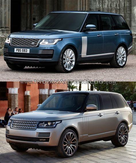 Range Rover Vs Land Rover >> 2018 Range Rover Vs 2013 Range Rover Old Vs New Vision