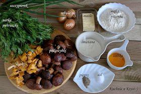 Kuchnia U Krysi Przystawka Sezonowa Tarta Ze Swiezymi Grzybami Stuffed Mushrooms Vegetables Food