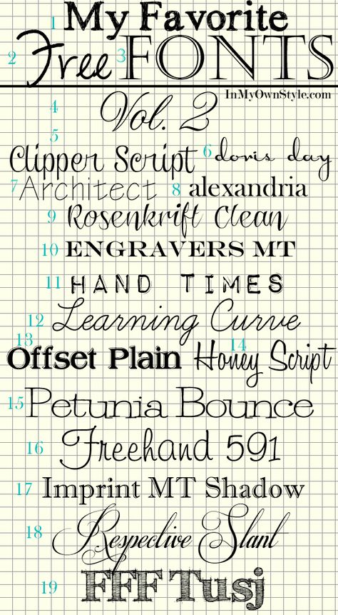 Free Fonts - pin now, look at them later    #fonts