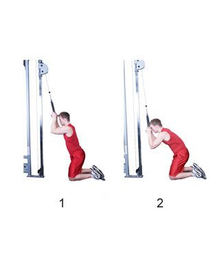Kneeling Cable Crunch | Full Fitness | healthy lifestyle ...