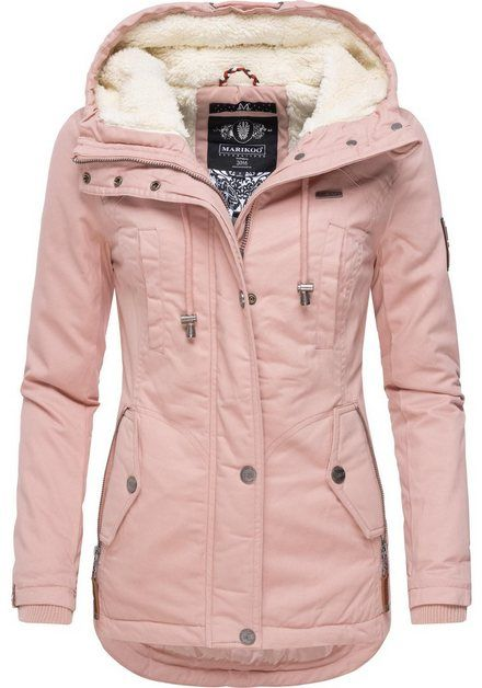 Marikoo Winterjacke Bikoo Sportliche Damen Outdoor Baumwolljacke Mit Kapuze Online Kaufen Winterjacke Damen Baumwolljacke Und Winterjacken