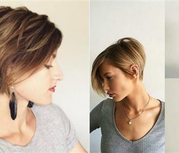 5 قصات شعر قصير تتربع على عرش موضة 2018 Hair Styles Hair Style