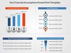 Key Financial Assumptions Powerpoint Template 1 Powerpoint