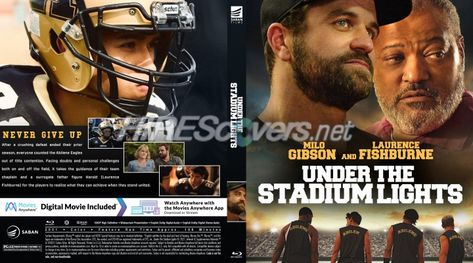 DVD Cover Custom DVD covers BluRay label movie art - Blu-ray CUSTOM Covers - U / Under The Stadium Lights (2021)