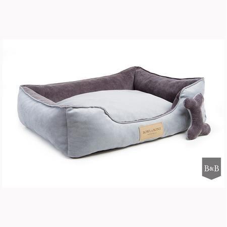 Classic Grey Dog Bed Bambu