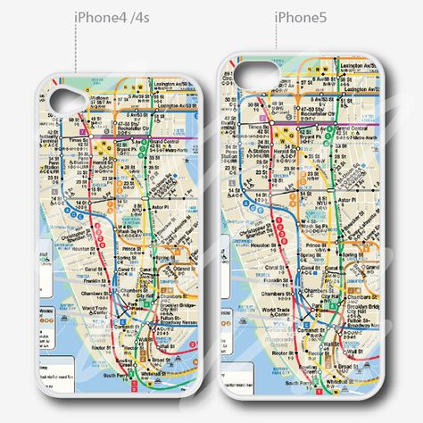 Nyc Subway Map Iphone 5 Case.Pinterest Pinterest