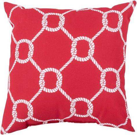 The Pillow Collection Jolyon Coastal Bedding Sham Blue Queen//20 x 30