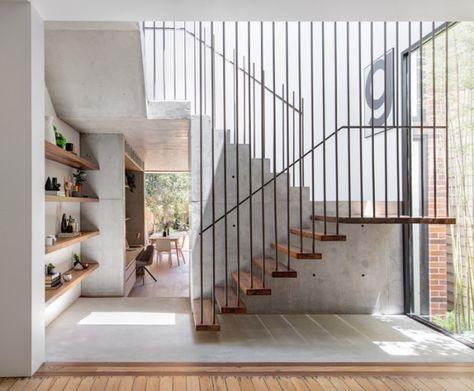 Bastian フローティング階段 階段の設計 階段