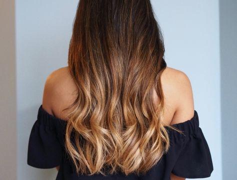 Ombre Braun Die Angesagte Haarfärbetechnik Blonde