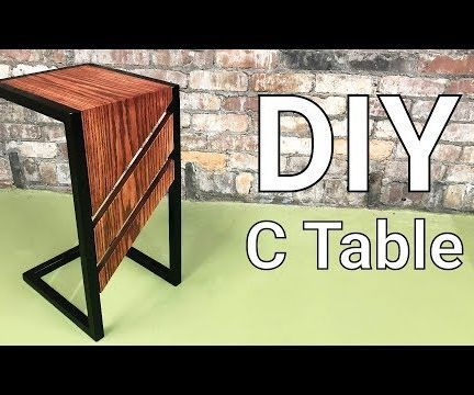 Brilliant C Table Diy Slide Under Sofa Or End Table Metal And Gmtry Best Dining Table And Chair Ideas Images Gmtryco