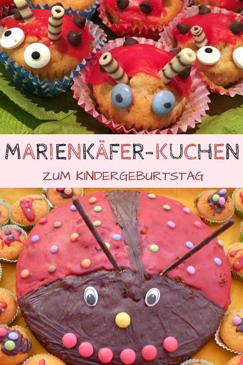 Photo of Marienkäferkuchen Rezept für den Kindergeburtstag