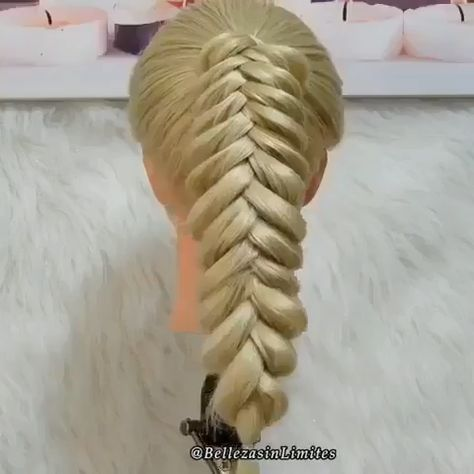 Beautiful Ponytail Braids Tutorial