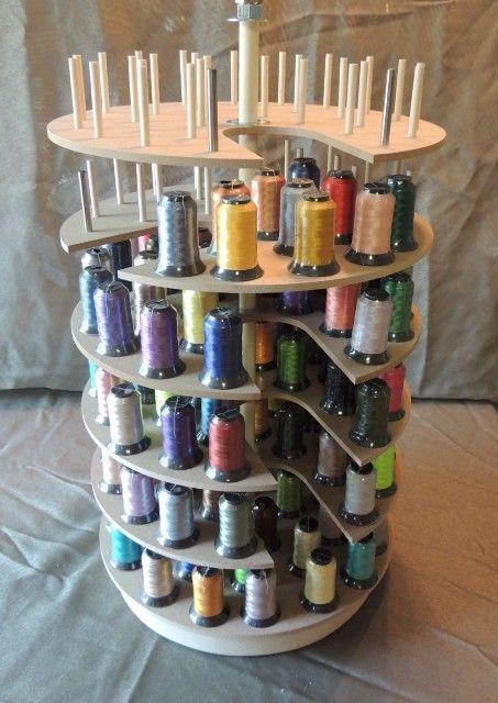 Embroidery Thread Storage Carousel Micro