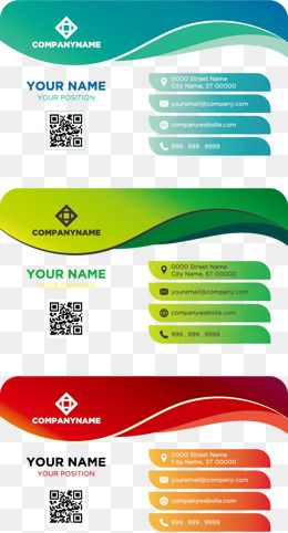 Personal Business Card Business Cards Blue Red Vector Free Stock Png Color Vector Busine Business Card Branding Business Card Template Personal Business Cards