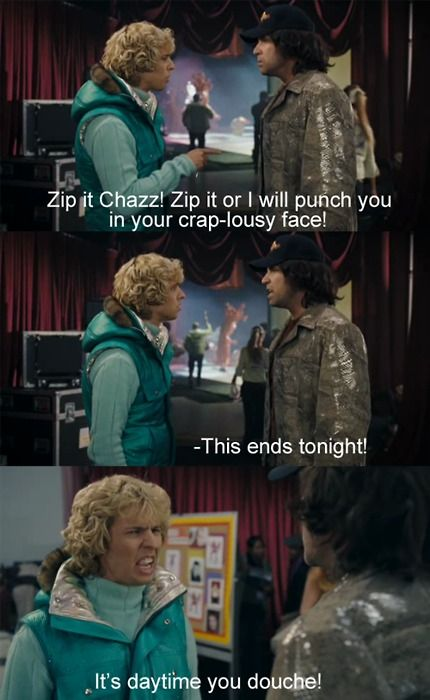 """Note to self: use """"crap-lousy"""" more often. Blades of Glory"""