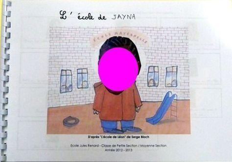 l'école de léon livre individuel pour chaque enfant