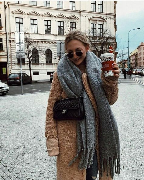 Winter Outfit + Coffee