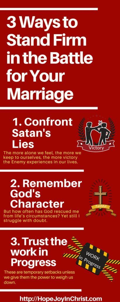 3 Ways to Stand Firm in the Battle for Your Marriage | SPIRITUAL