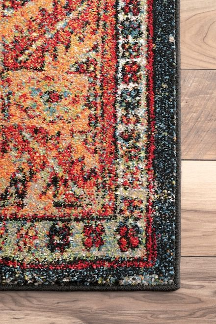 Fervour Vintage Floral Indoor Outdoor Multi Rug Area Rugs For Sale Rugs Area Rugs