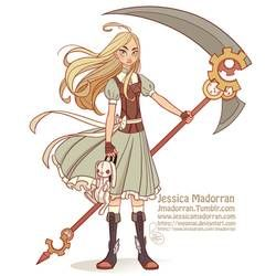 Character Design Challenge - Alice by MeoMai