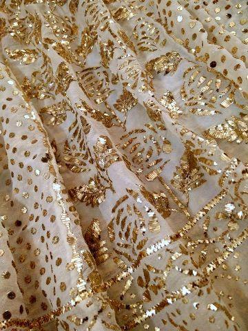 Indian Lucknawi Chikankari Dupatta Stole Scarf Handwork Embroided Ethnic Wear