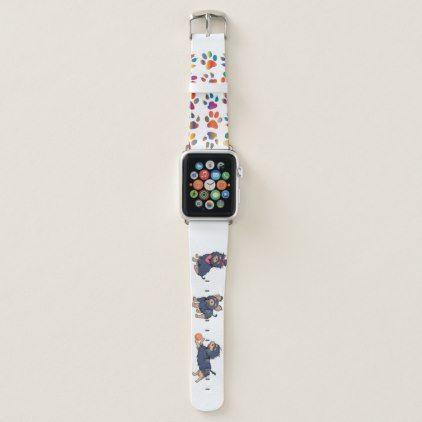 Yorkie Cartoons 2 Apple Watch Band Zazzle Com Apple Watch Bands Watch Bands Apple Watch