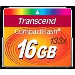 Transcend 16gb Compactflash Cf Card 133x 16 Gb Flash