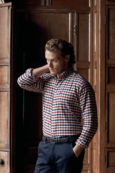 Sam Heughan for Barbour (GQ magazine)