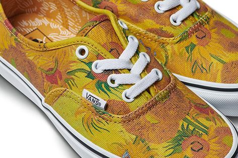 Vans and the Van Gogh Museum Want to Turn Your Sneakers Into