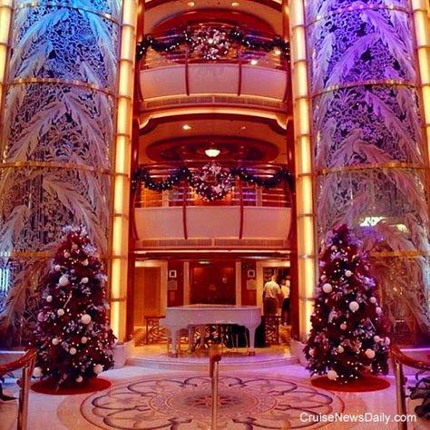 CND's Cruiseblogger: Princess Cruises Decorates for the Holidays