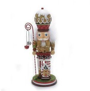 Kurt Adler Gingebread Cookie Nutcracker ** Learn more by visiting the image link.