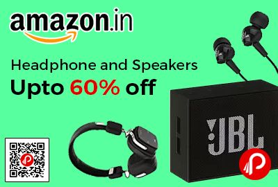 Amazon Dealsoftheday Is Offering Upto 60 Off On Headphone And Speakers Including Jbl Boat Philips Sony House Of Marley Soundm Amazon Speaker Headphone
