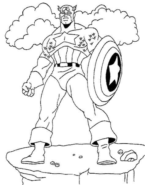 captain america coloring pages  malvorlagen für kinder