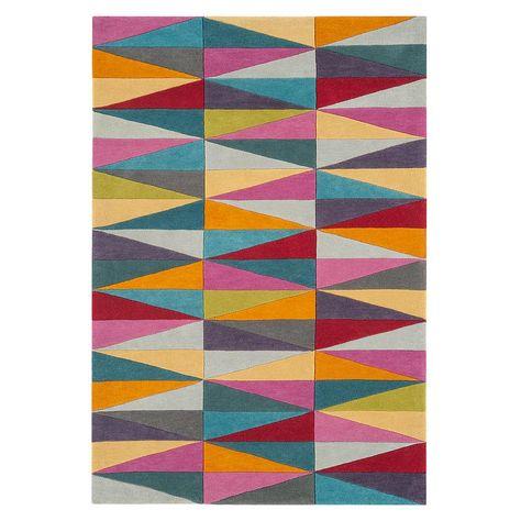 Funk Triangles Rugs Geometric Rug