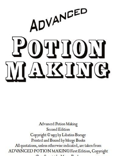 advanced potion making by libatius borage pdf download