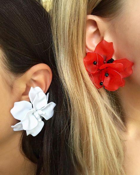 Matthew Melka Flower Earrings