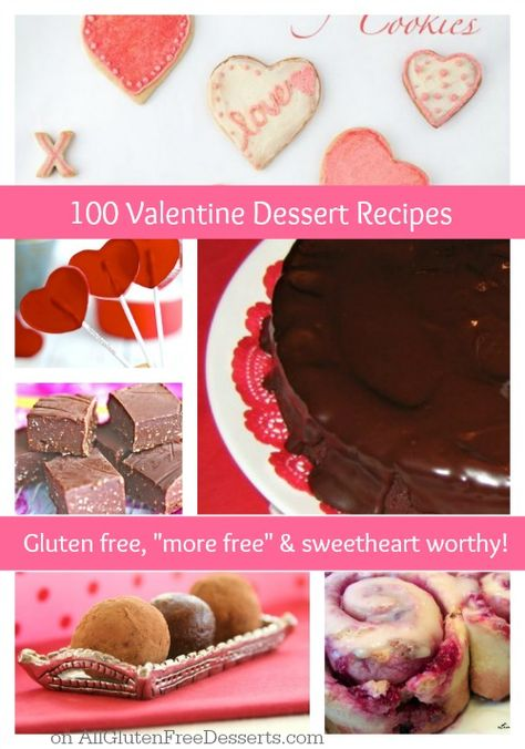 I know you can find the perfect Valentine's Day dessert in this roundup of 100 gluten-free recipes from All Gluten-Free Desserts!