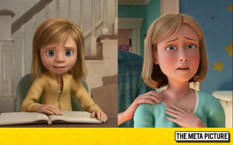 "Riley From ""Inside Out"" Is Andy's Mom From ""Toy Story"" Mind = Blown - The Meta Picture"