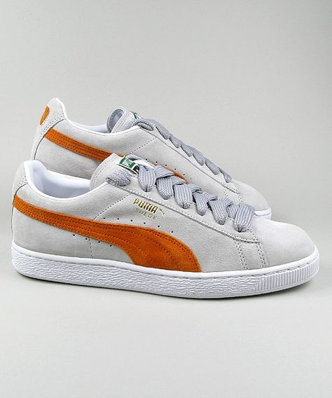 Puma Suede Classic silver birch/red/white/gold #puma #sneakers #shoes  #streetwear #men www.neverending-shop.de | ropa | Pinterest | Puma sneakers  shoes, ...