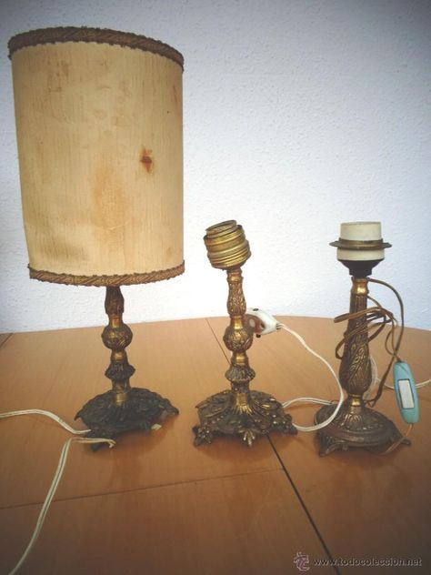 3 PARA RESTAURAR MESA LAMPARA BRONCE DE PIES DE O USMVpqz