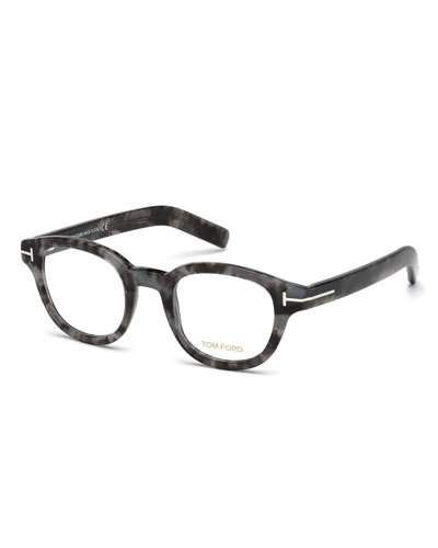 b0e68f5d425 Chloé Boxwood black oval-frame optical glasses (£185) ❤ liked on Polyvore  featuring accessories