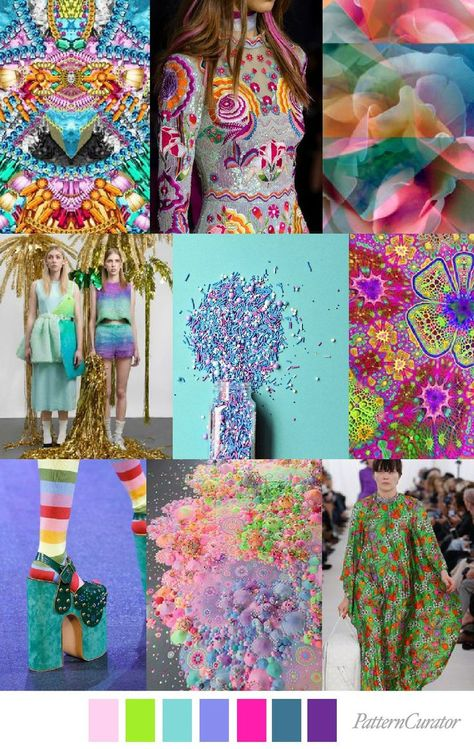 Candy Flip PatternCurator Style Color Palettes Colour Fashion Color Palettes Mood Boards Color Inspiration Personal Style Online Online Fashion Stylist Fashion F.